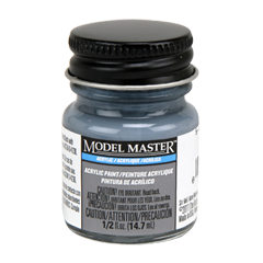 Testors Model Masters Acrylic Paints- 5-O Ocean Gray - Semi-Gloss
