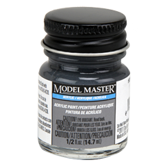 Testors Model Masters Acrylic Paints- 507-A Dark Gray R.N. - Semi-Gloss