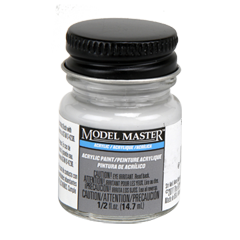 Testors Model Masters Acrylic Paints- 507-C Light Gray R.N. - Semi-Gloss