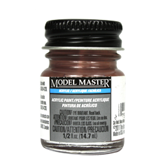 Testors Model Masters Acrylic Paints- Hull Red KMS - Semi-Gloss