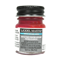 Testors Model Masters Acrylic Paints- Insignia Red FS31136 - Flat