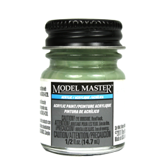 Testors Model Masters Acrylic Paints- RAF Interior Green - Flat