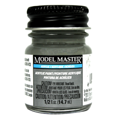 Testors Model Masters Acrylic Paints- Reefer Gray - Flat