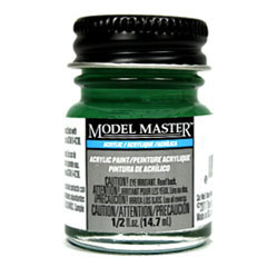 Testors Model Masters Acrylic Paints- Signal Green - Flat