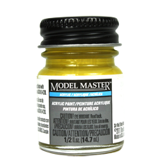 Testors Model Masters Acrylic Paints- Yellow Zinc Chromate - Flat