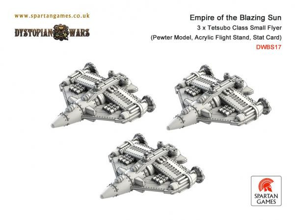 Dystopian Wars: Empire Of The Blazing Sun: Tetsubo Class Small Flyer