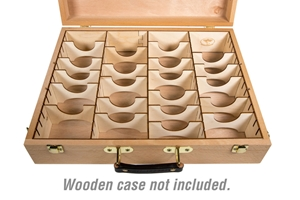 The Broken Token: Organizer- Wooden Artist Case Organizer [SALE]