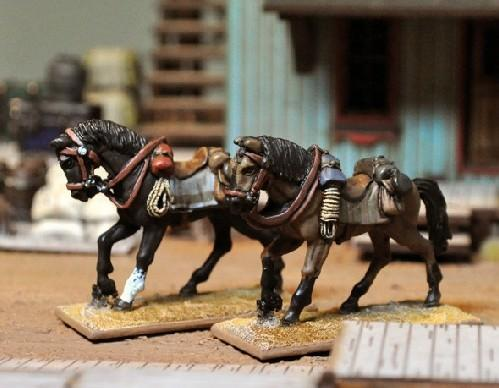 The Curse of Dead Mans Hand: Riderless Horses Set