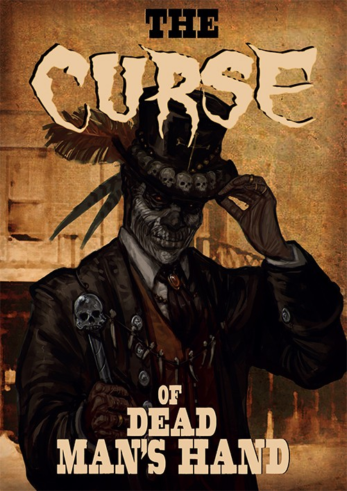 The Curse of Dead Mans Hand: Rulebook And Card Deck