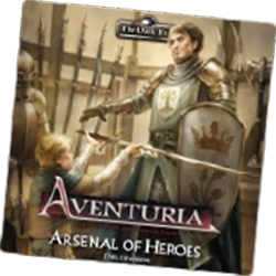 The Dark Eye: Aventuria Adventure Card Game: Arsenal of Heroes