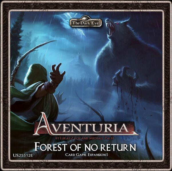 The Dark Eye: Aventuria Adventure Card Game- Forest of No Return