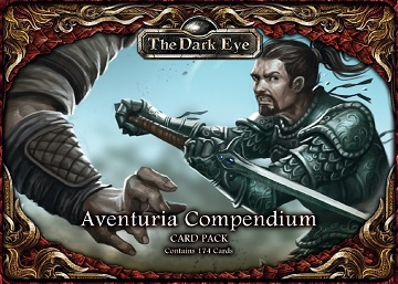 The Dark Eye: Aventuria Compendium Card Pack