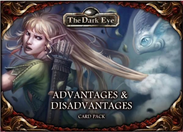 The Dark Eye: Card Pack- Advantages & Disadvantages
