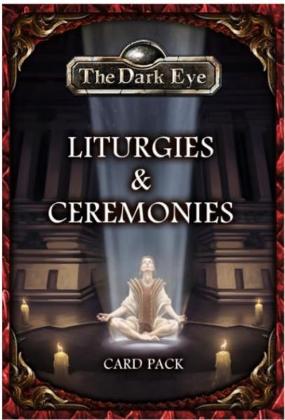 The Dark Eye: Card Pack- Liturgies & Ceremonies