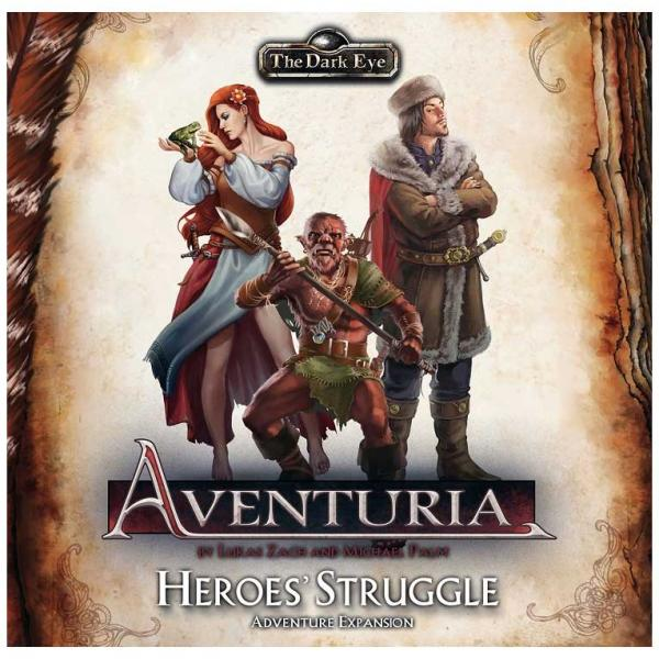 The Dark Eye: Aventuria Adventure Card Game: Heroes Struggle