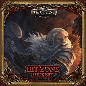 The Dark Eye: Hit Zone Dice [SALE]