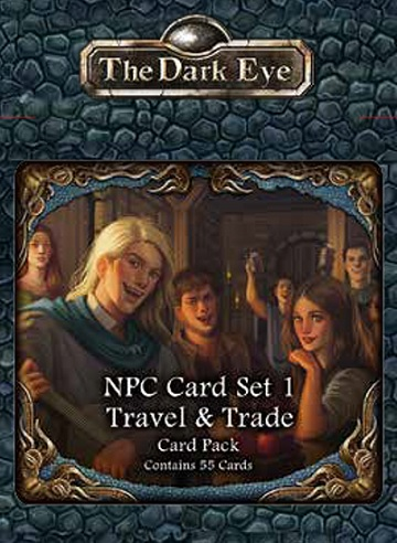 The Dark Eye: NPC Card Set 1- Travel & Trade