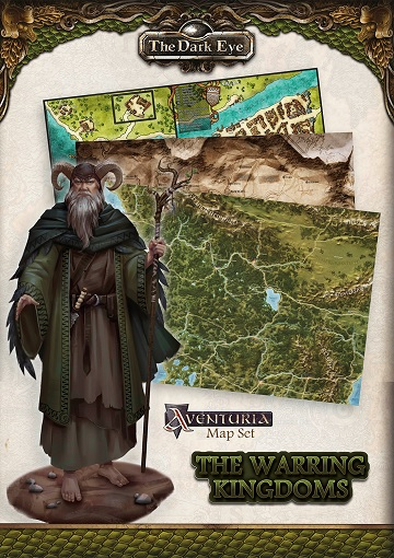 The Dark Eye: WARRING KINGDOMS MAP SET [SALE]