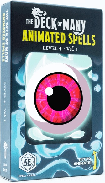 The Deck Of Many Animated Spells: Level 4 Vol 1