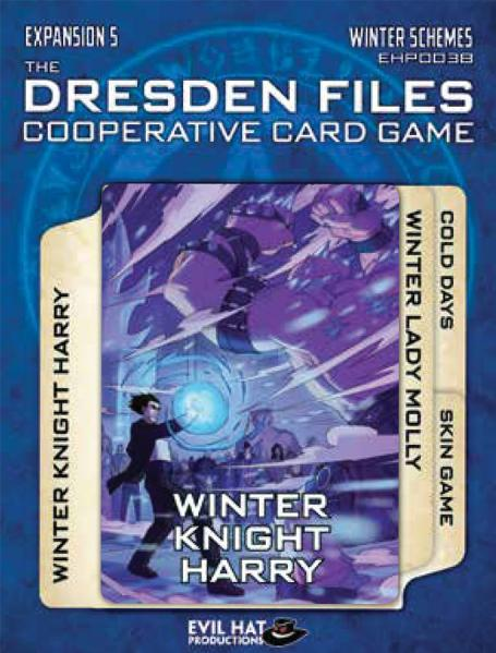 The Dresden Files Cooperative Card Game: Expansion 5- Winter Schemes
