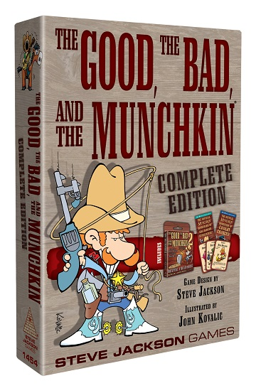The Good, the Bad, & the Munchkin (Complete Edition) [Damaged]