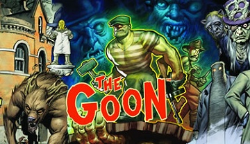 The Goon: GM Screen & Adventure Book