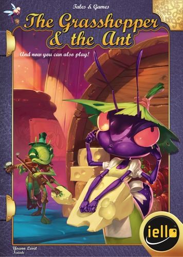 The Grasshopper and the Ant [SALE]