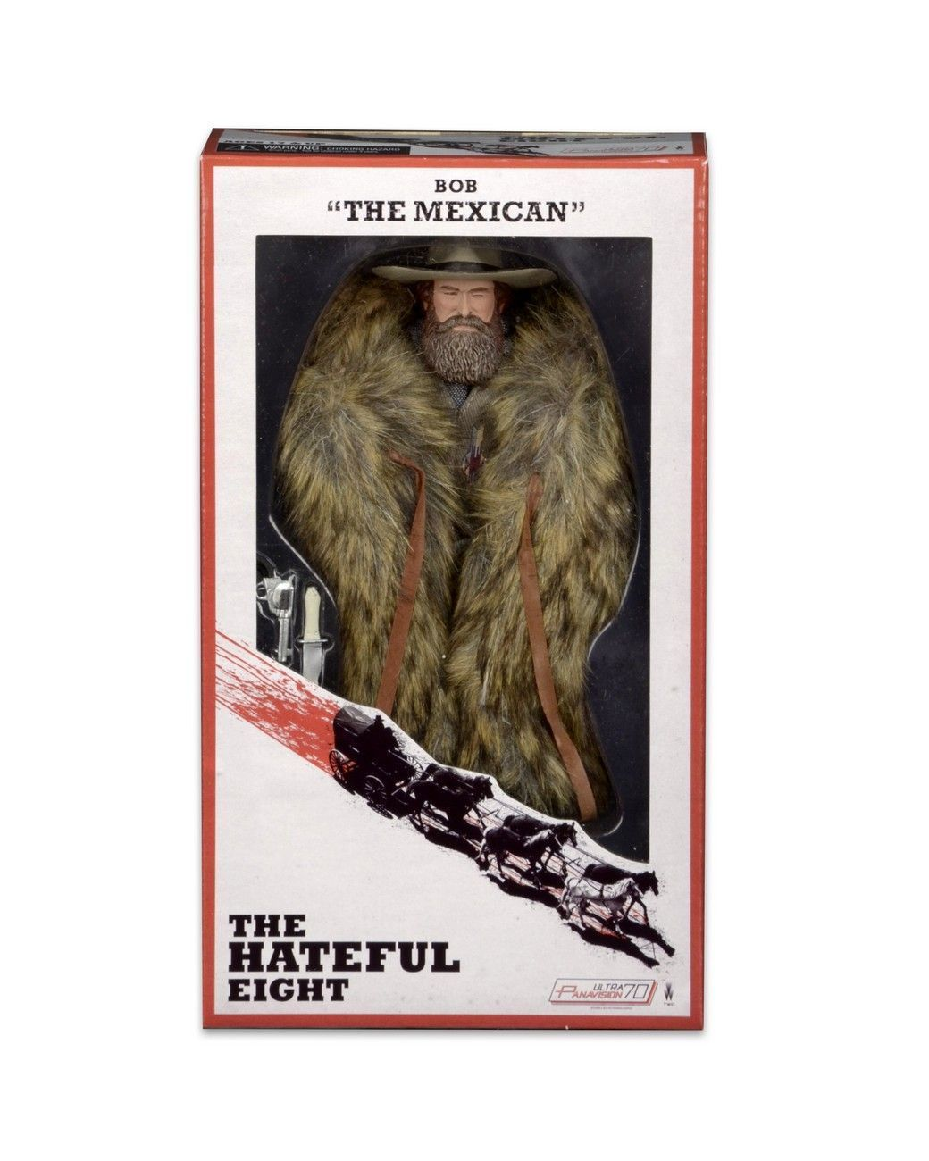 "The Hateful Eight: 8 Bob ""The Mexican"""