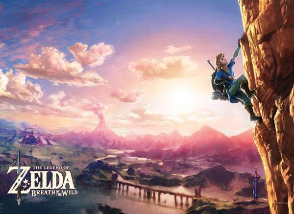 The Legend of Zelda: Breath of the Wild- Scaling Hyrule Puzzle