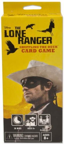The Lone Ranger Shuffling the Deck Card Game [SALE]