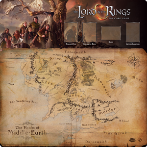 The Lord of the Rings LCG: 1-4 Player Gamemat