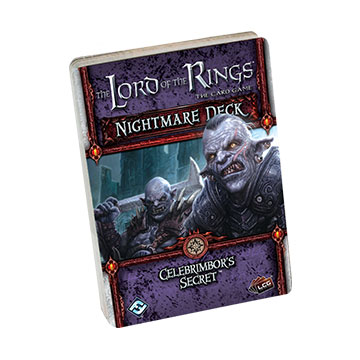 The Lord of the Rings LCG: Celebrimbors Secret (Nightmare Deck)