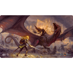 The Lord of the Rings LCG: Playmat- Flame Of The West