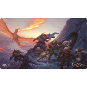The Lord of the Rings LCG: Playmat- On The Doorstep