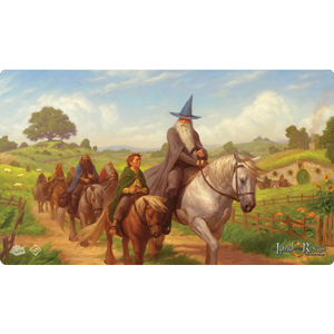 The Lord of the Rings LCG: Playmat- The Hobbit