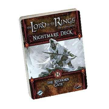 The Lord of the Rings LCG: Redhorn Gate Nightmare Deck