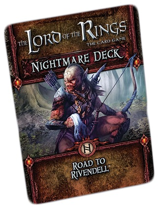 The Lord of the Rings LCG: Road To Rivendell Nightmare Deck
