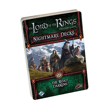 The Lord of the Rings LCG: The Road Darkens Nightmare Deck