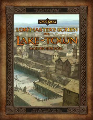 The One Ring: Loremasters Screen and Lake-town Sourcebook