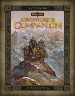 The One Ring: The Adventurers Companion