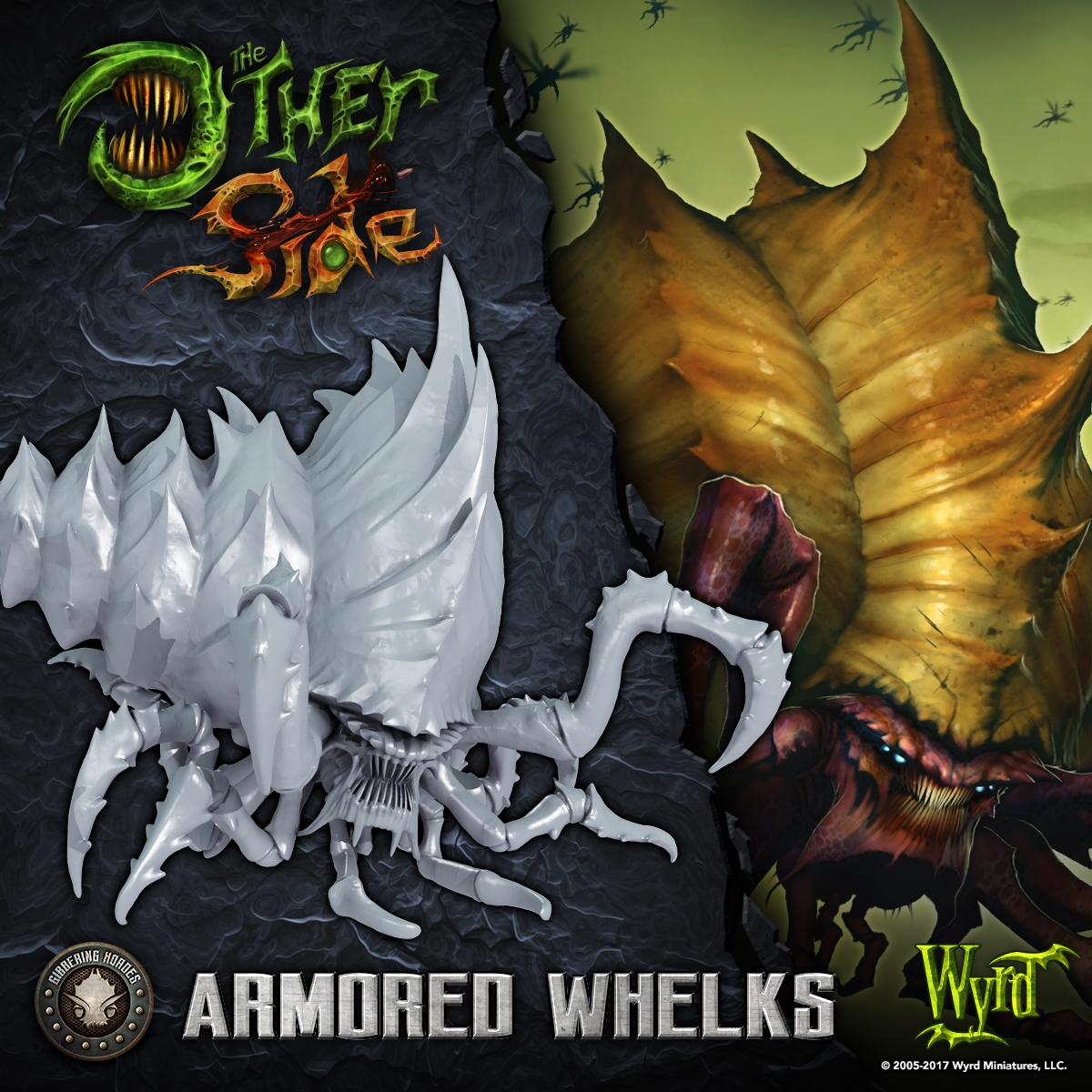 The Other Side: Gibbering Hordes: Armored Whelks