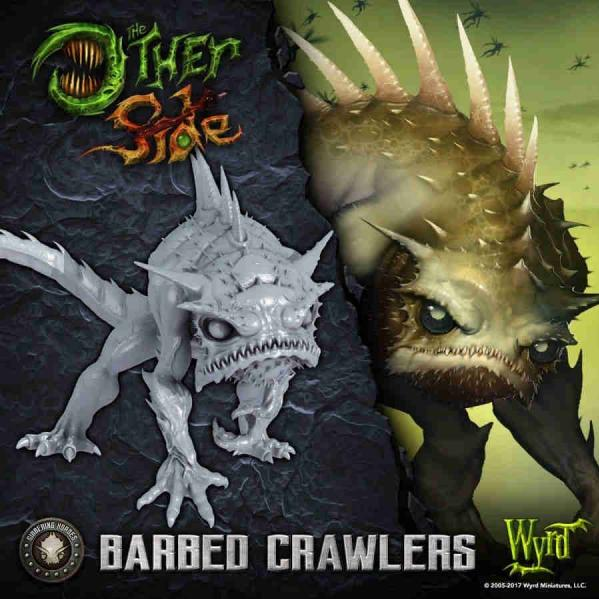The Other Side: Gibbering Hordes: Barbed Crawlers