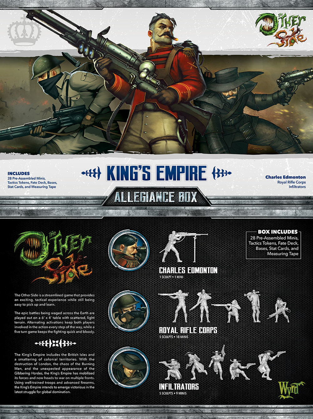 The Other Side: Kings Empire: Allegiance Box- Charles Edmonton