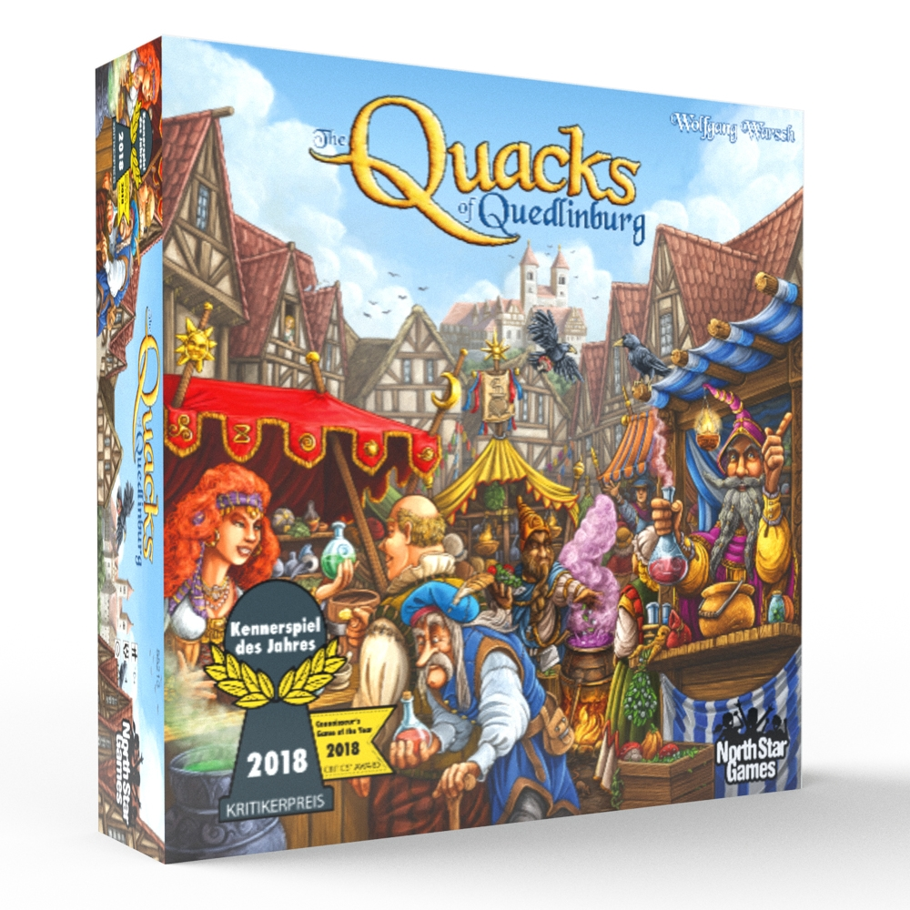 The Quacks of Quedlinburg [Damaged]