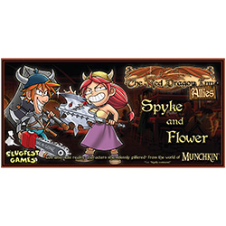 The Red Dragon Inn: Allies: Spyke & Flower