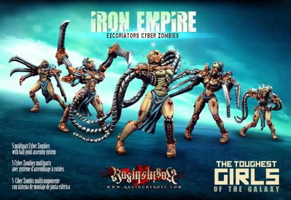 The Toughest Girls Of The Galaxy: Iron Empire- Excoriators Cyber Zombies