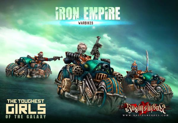 The Toughest Girls Of The Galaxy: Iron Empire- Warbikes