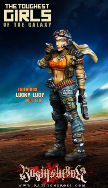 The Toughest Girls Of The Galaxy: Jailbirds- Lucky Lucy, Spotter