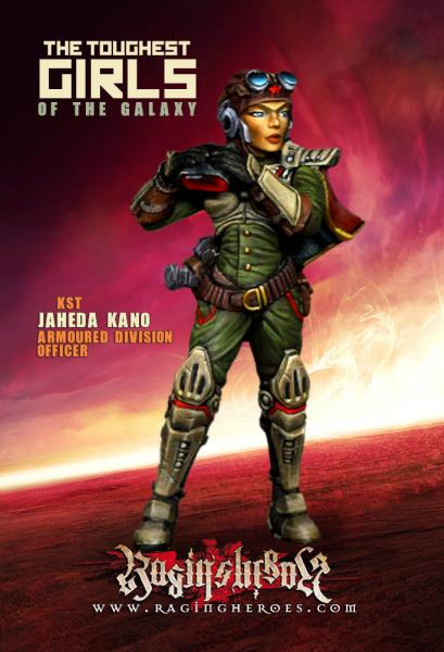 The Toughest Girls Of The Galaxy: Kurganovas- Jaheda Kano, Armoured Division Officer