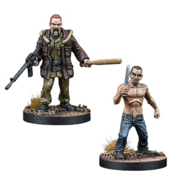 The Walking Dead: All Out War- Abraham and Jud